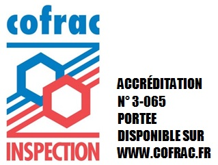 ACCREDITATION N? 3-065 PORTEE DISPONIBLE SUR WWW.COFRAC.FR